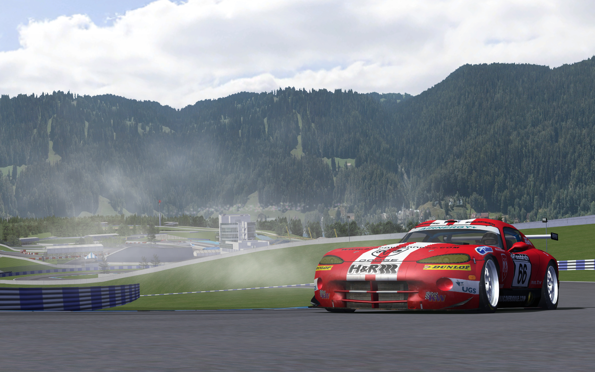 Viper Racer rfactor race HD Wallpaper