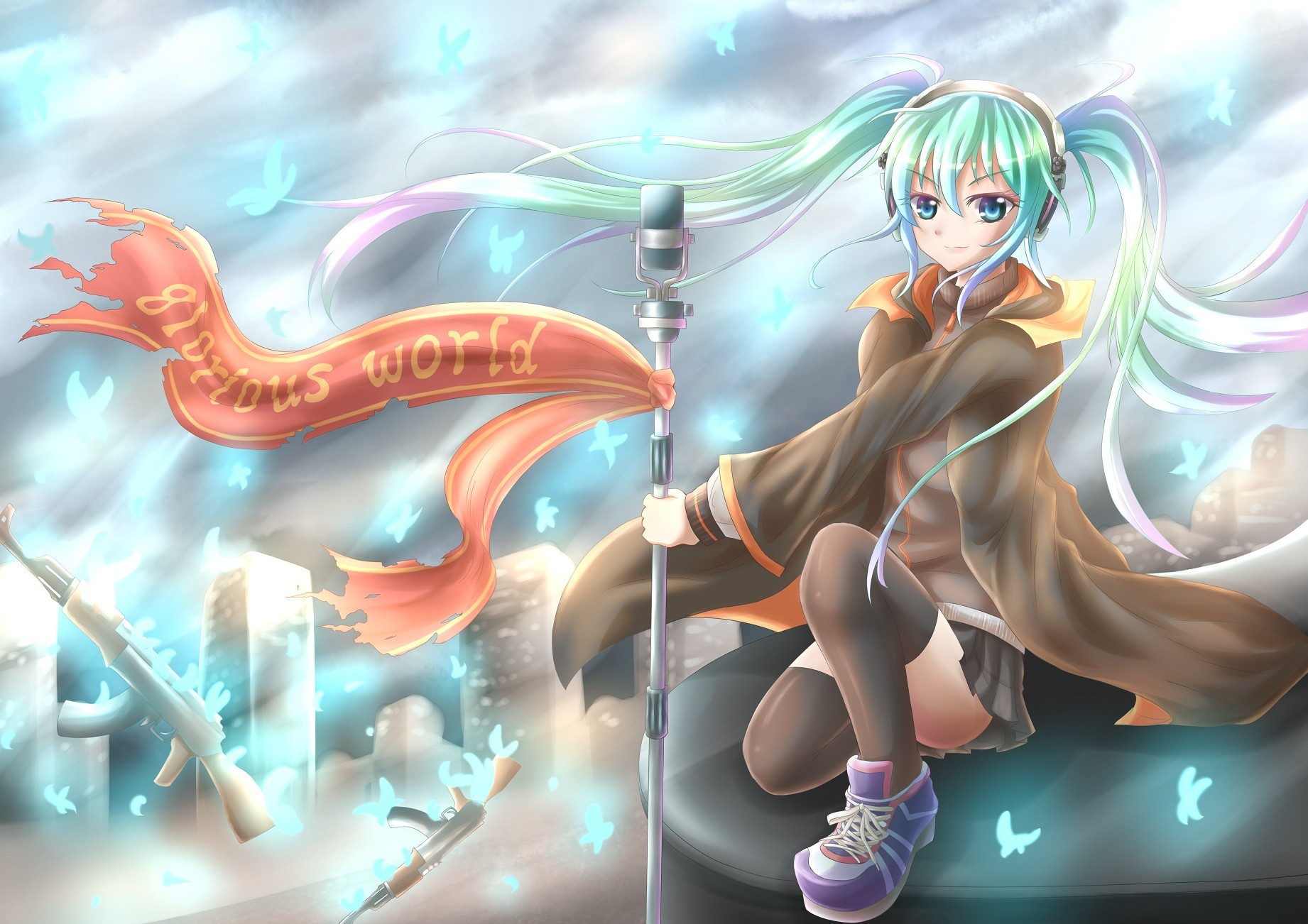 vocaloid hatsune miku HD Wallpaper