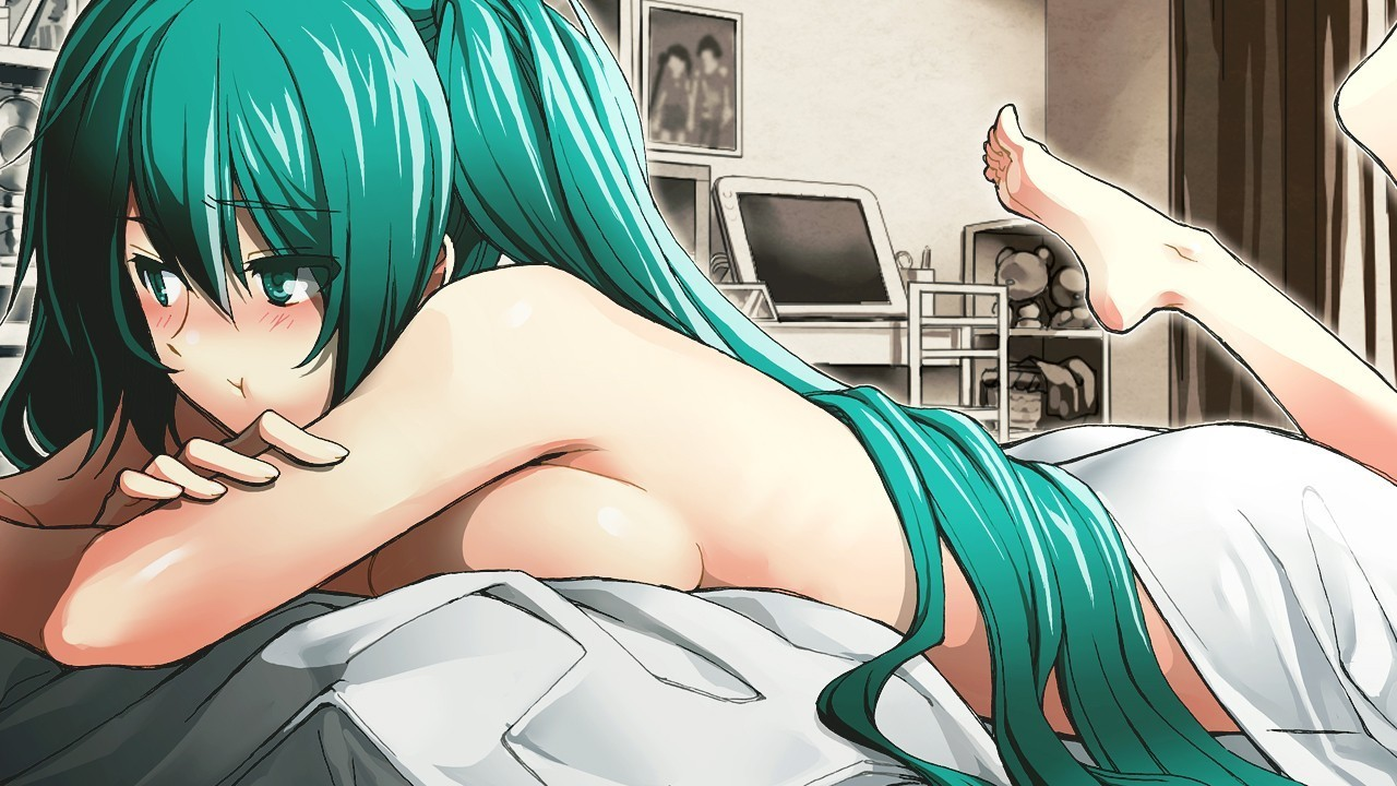 vocaloid hatsune miku ecchi HD Wallpaper