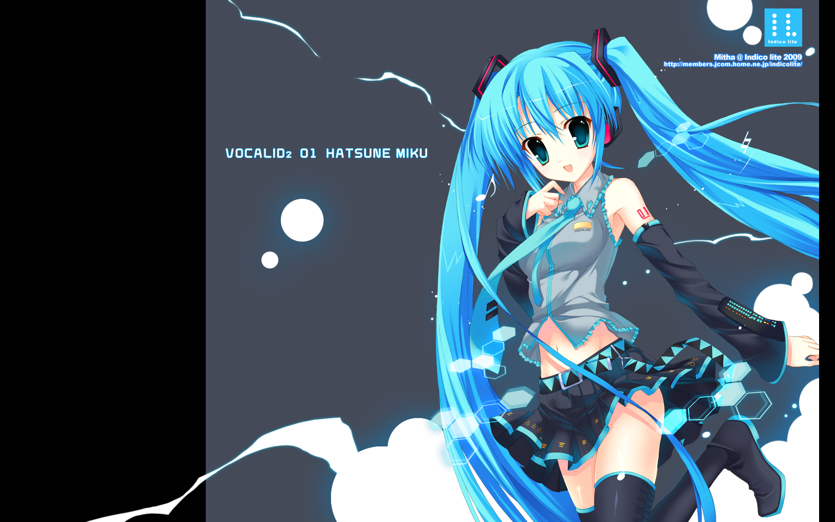 vocaloid hatsune miku indico HD Wallpaper