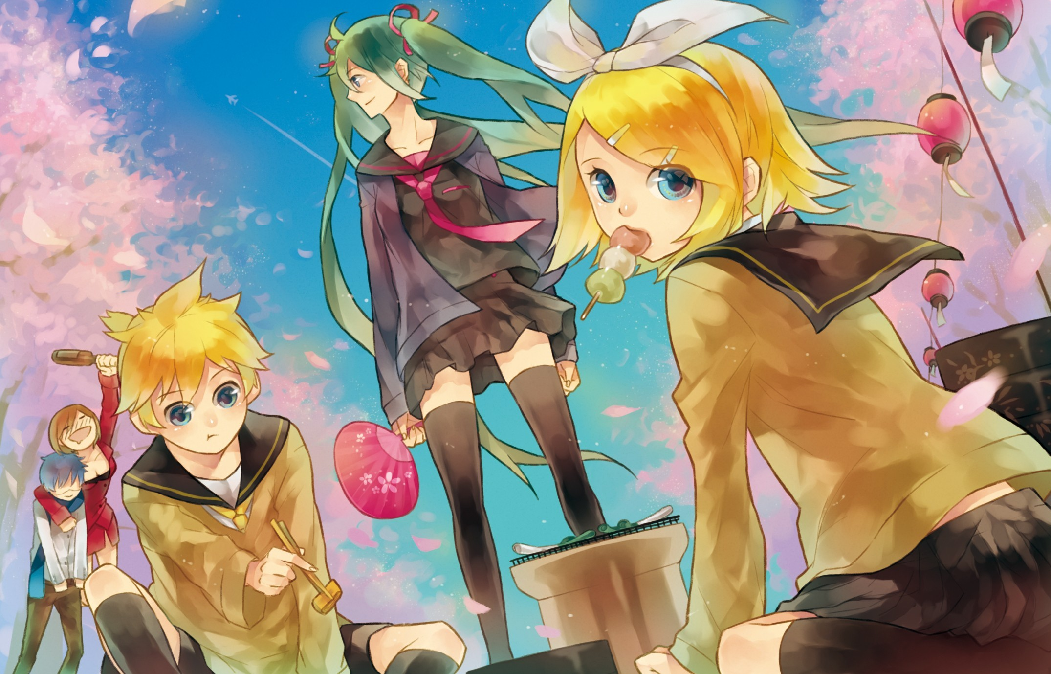 vocaloid hatsune miku school HD Wallpaper