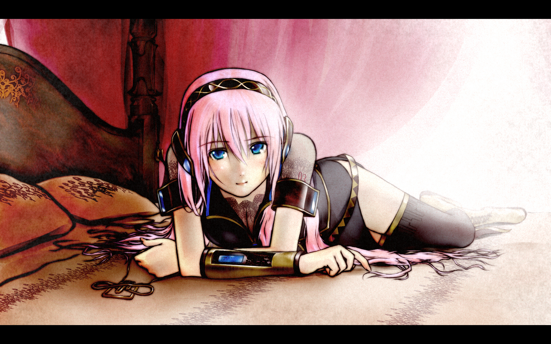 vocaloid megurine luka detached HD Wallpaper