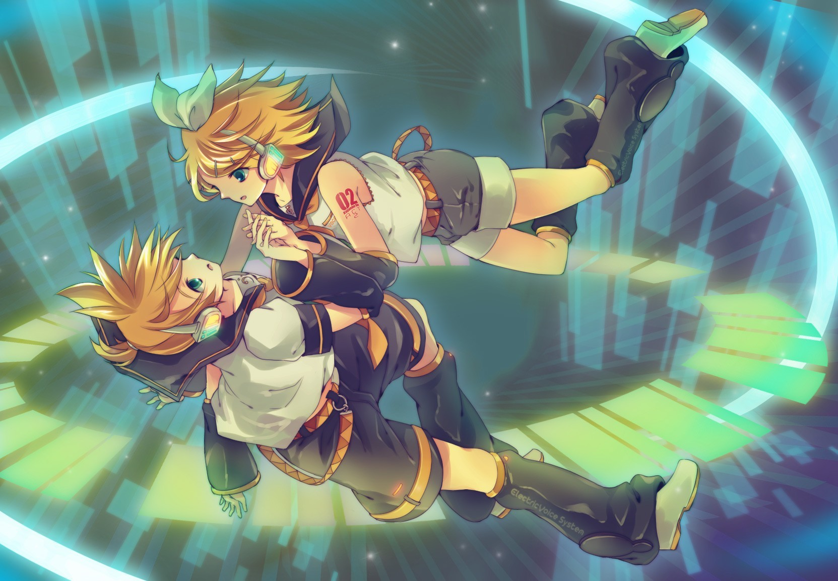 vocaloid twins kagamine rin HD Wallpaper