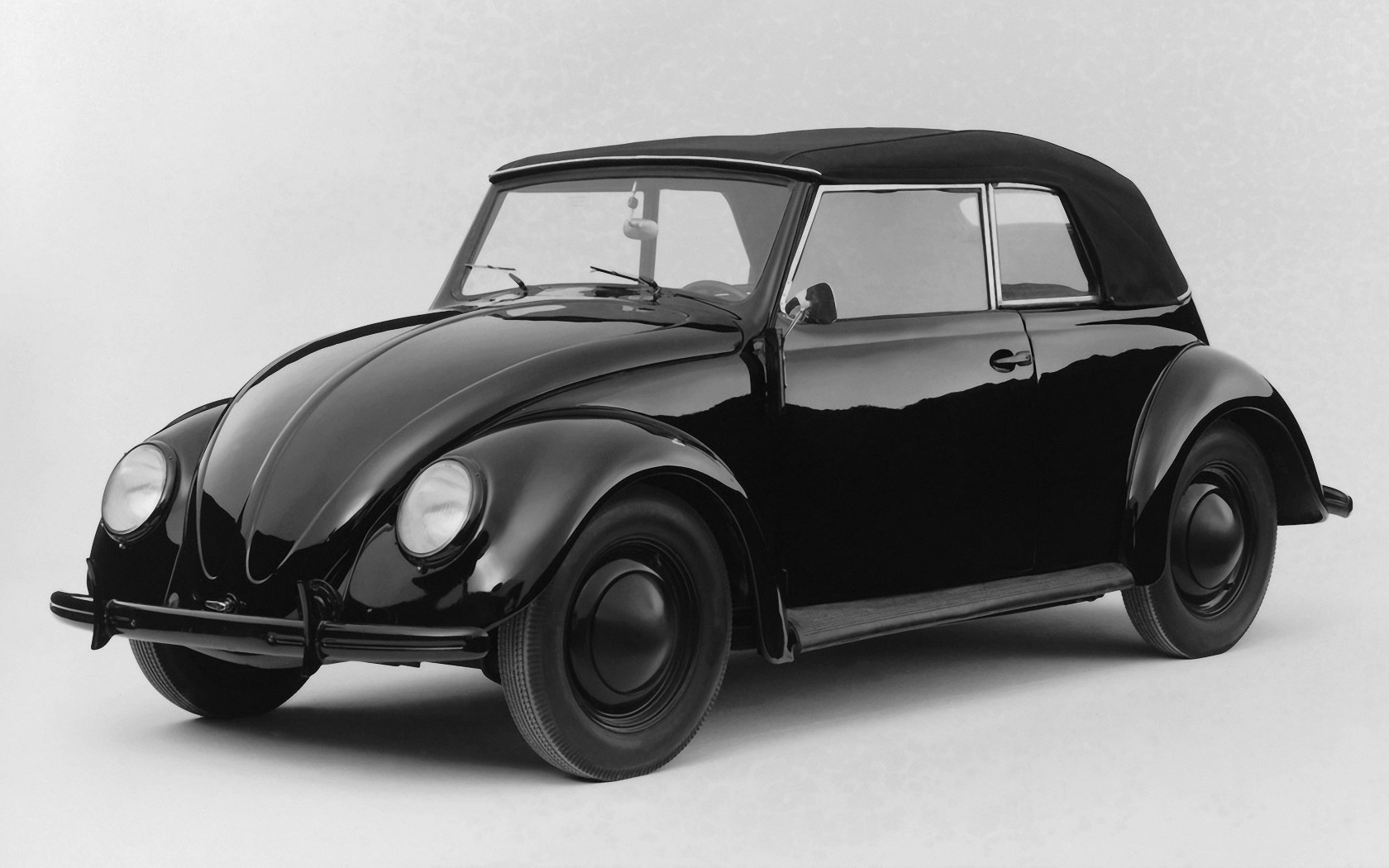 volkswagen beetle black cars HD Wallpaper