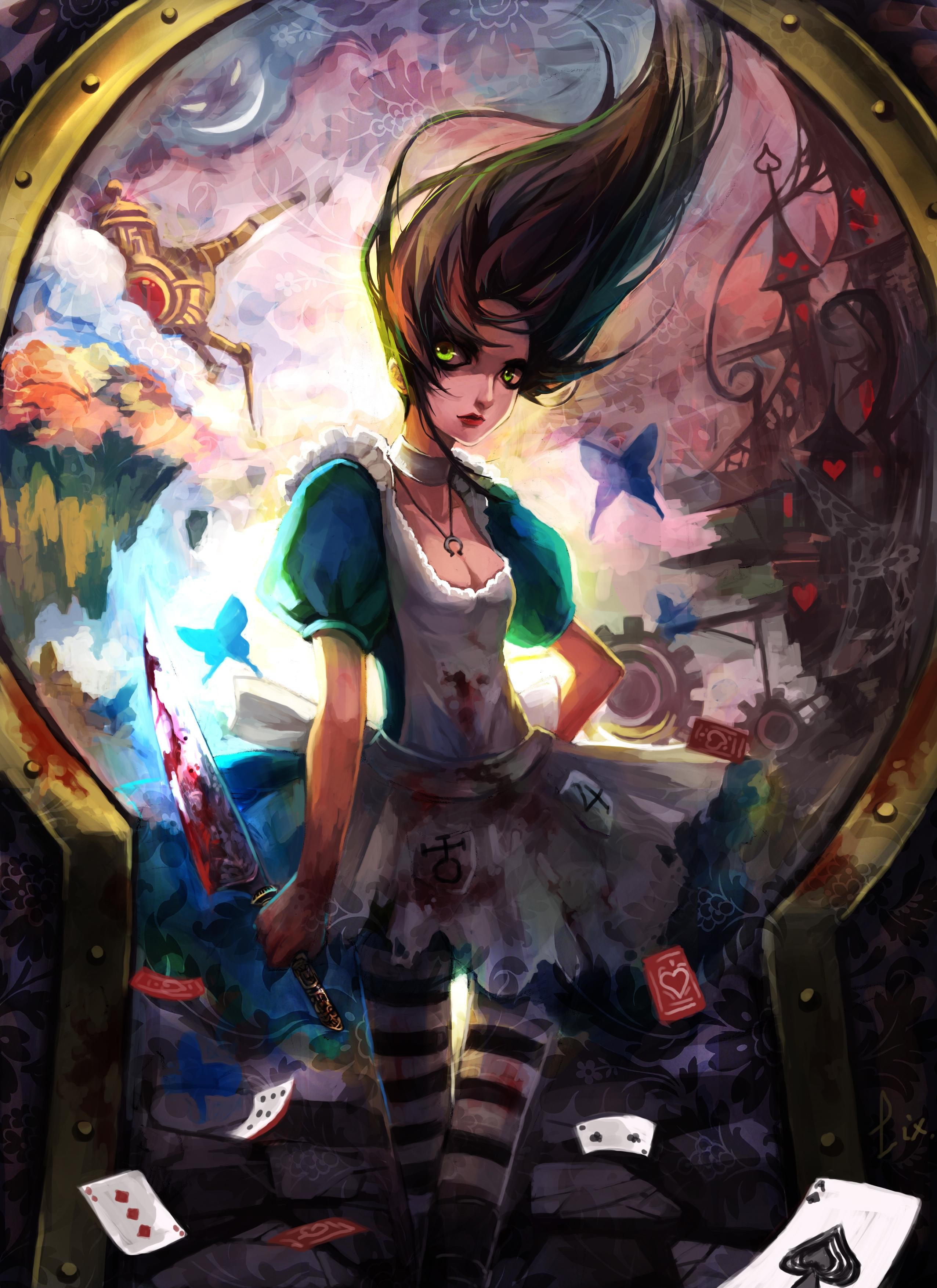 Vorpal blade alice madness HD Wallpaper