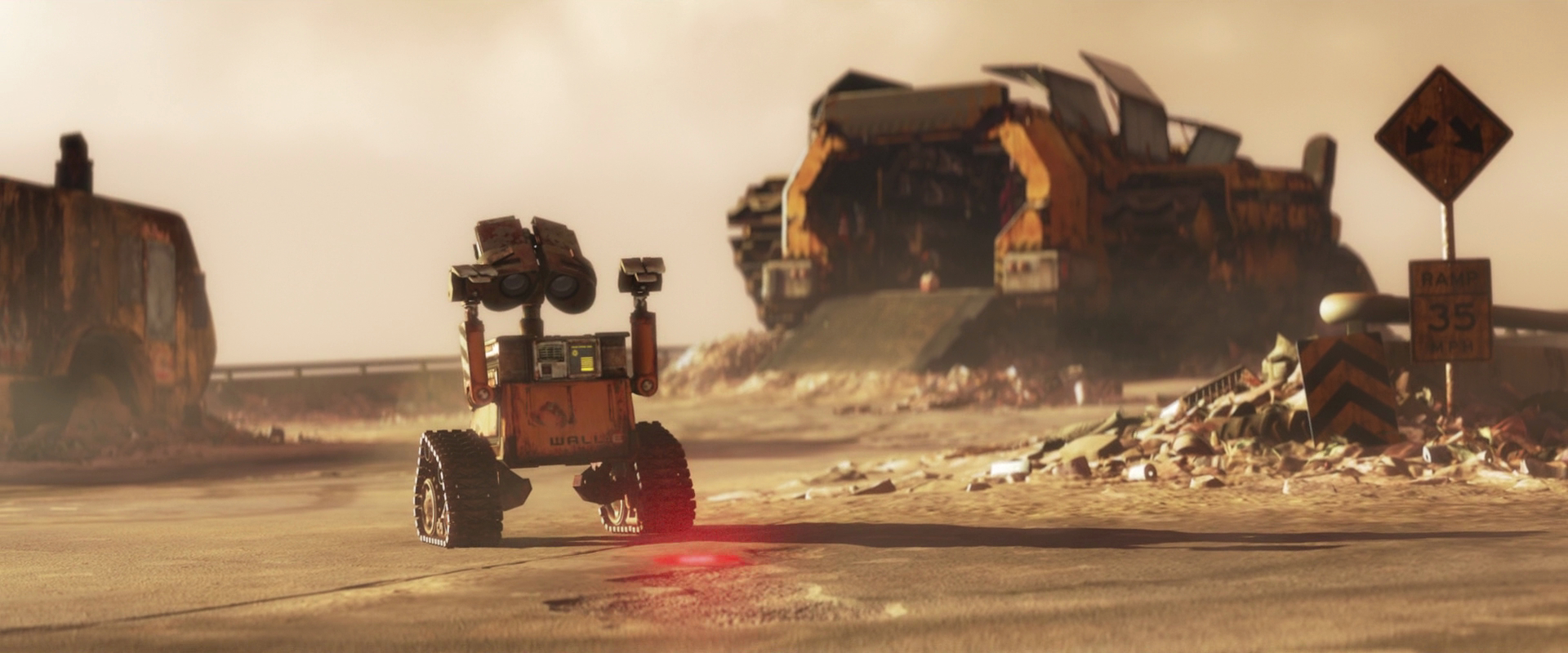 wall-e Movie HD Wallpaper