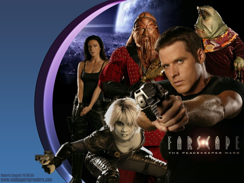 wall farscape science fiction HD Wallpaper