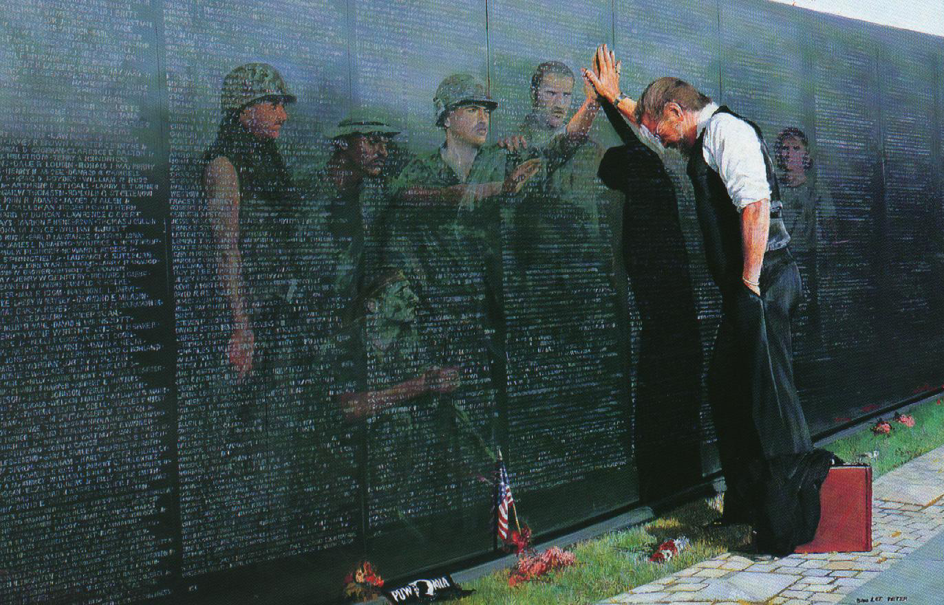 War Viet Nam memorial HD Wallpaper
