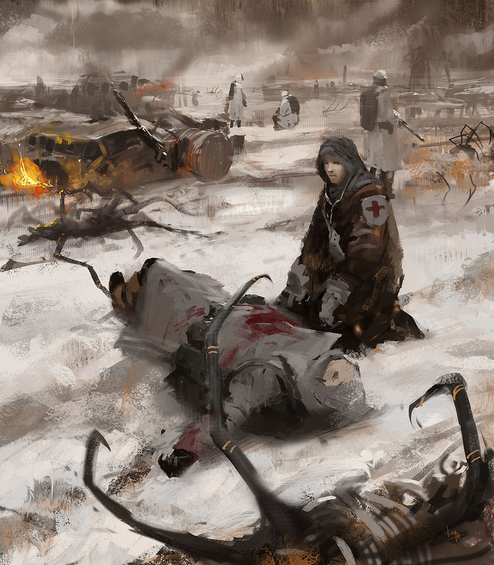 War warfare artwork medic HD Wallpaper