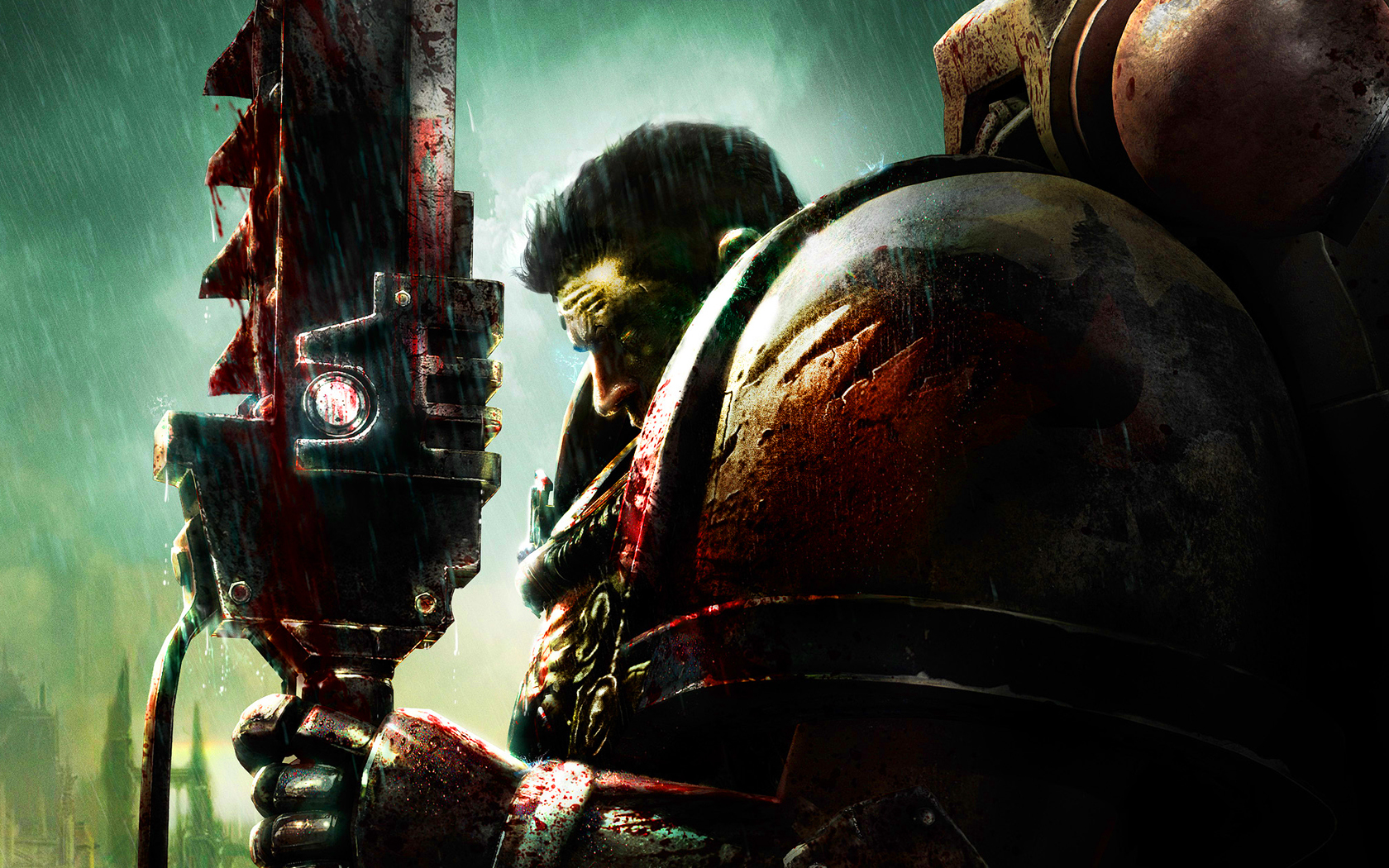 Warhammer 40K Blood Angel HD Wallpaper