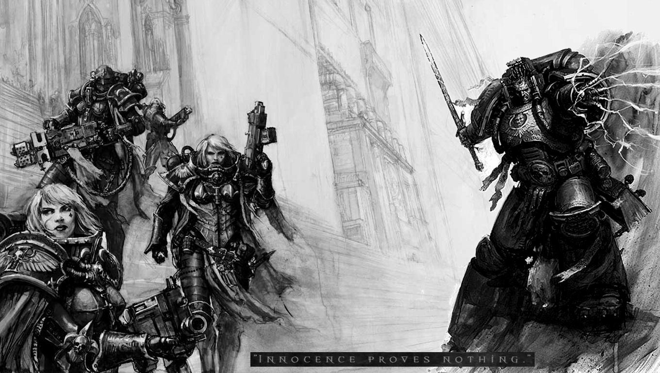 warhammer adepta sororitas game HD Wallpaper