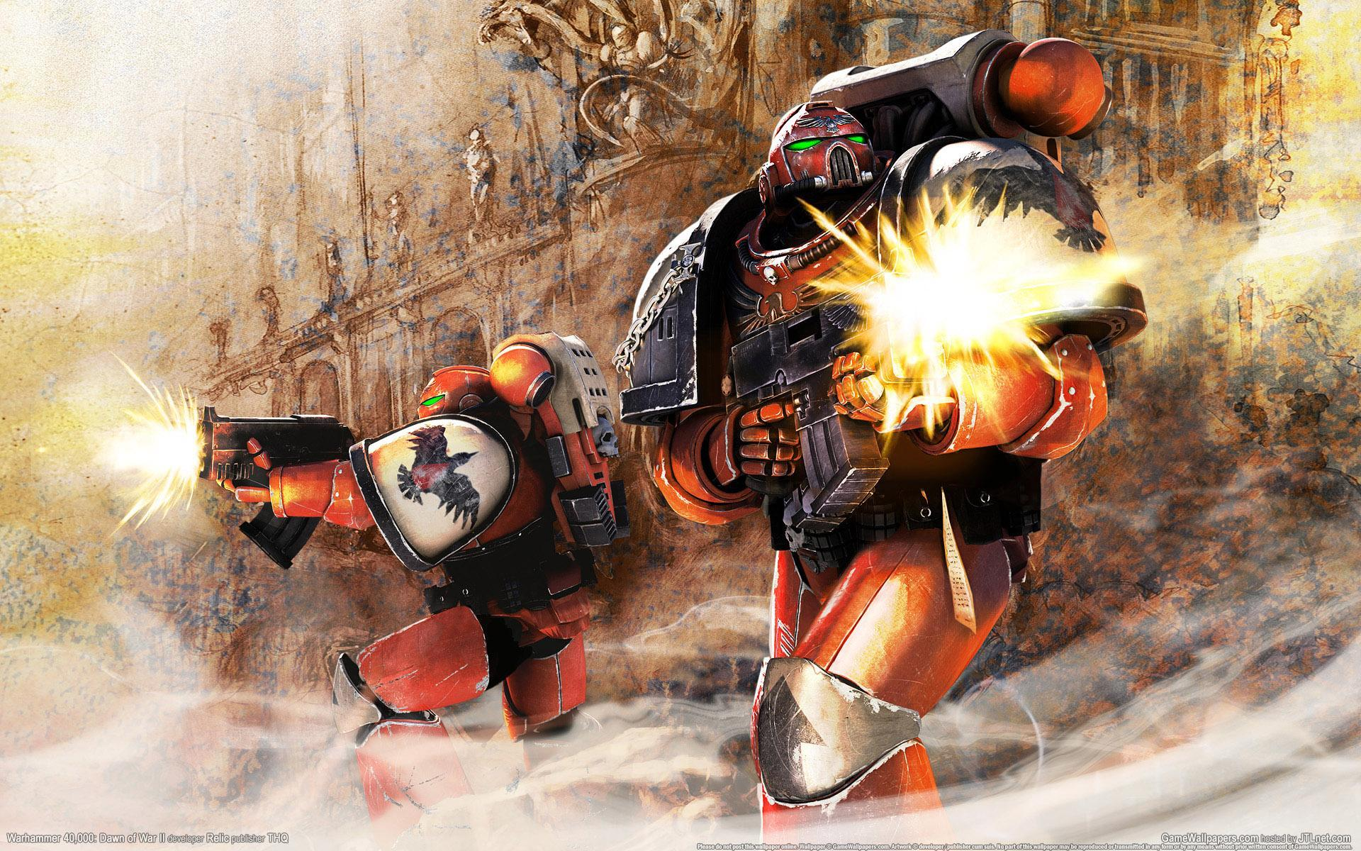 warhammer Blood Ravens HD Wallpaper