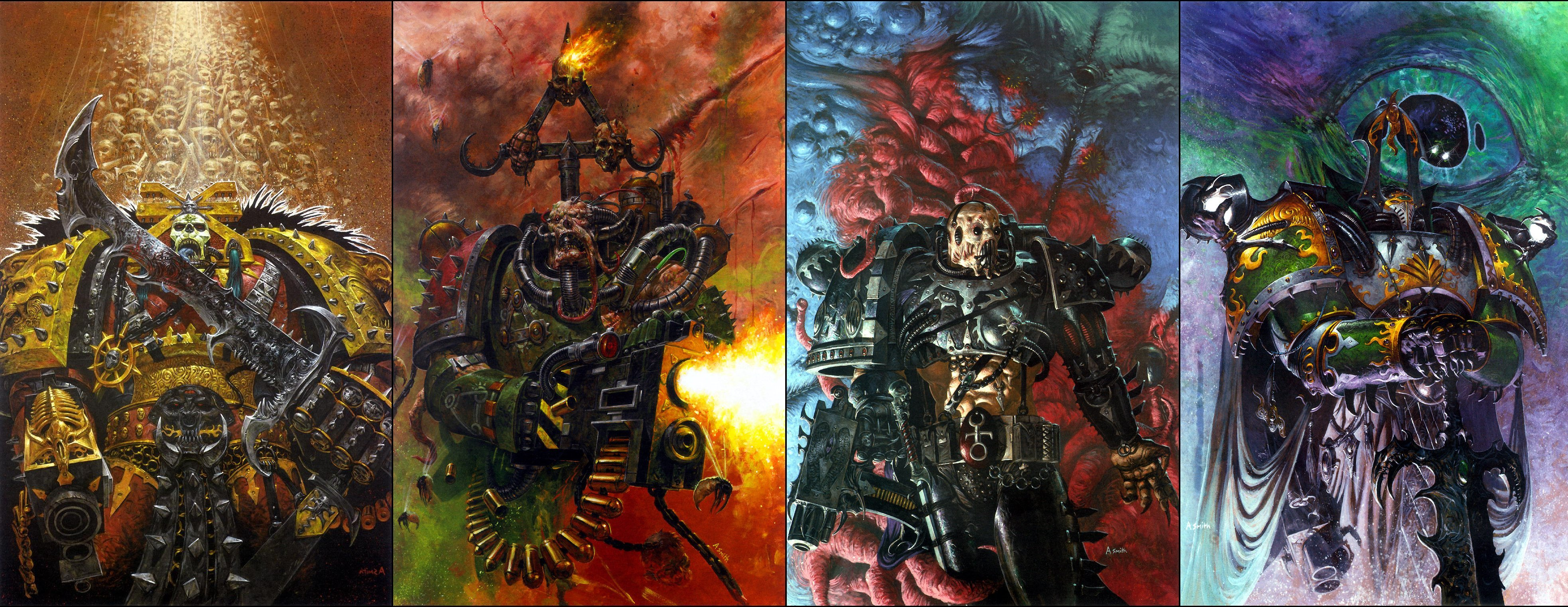 Warhammer Chaos Nurgle Slaanesh