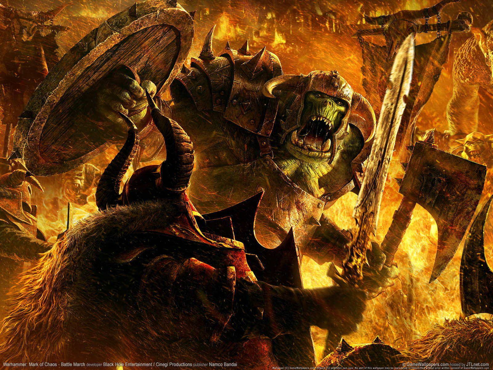 warhammer fight fantasy Art HD Wallpaper