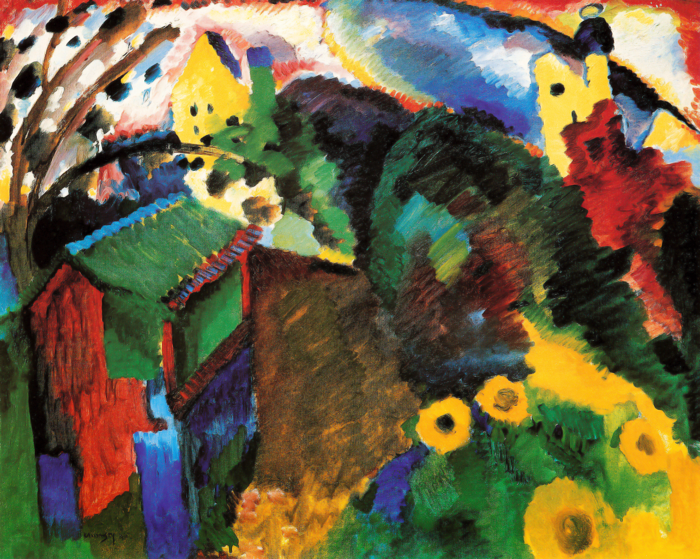 wassily kandinsky HD Wallpaper