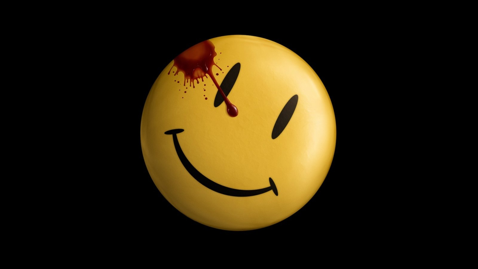Watchmen blood smiley face HD Wallpaper