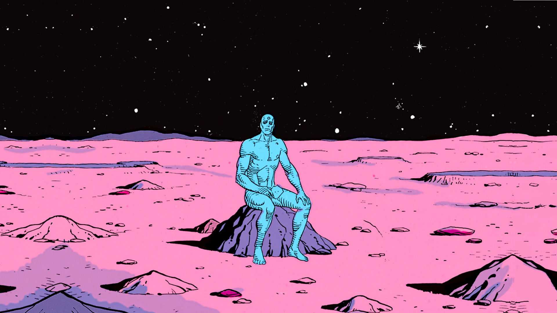 Watchmen Dr. Manhattan HD Wallpaper