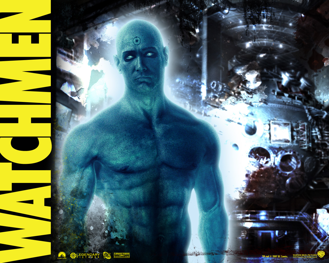 Watchmen Movies Dr. Manhattan