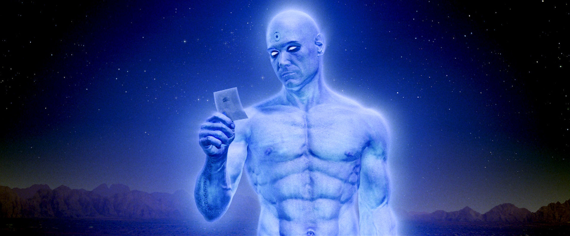 Watchmen Movies Dr. Manhattan HD Wallpaper