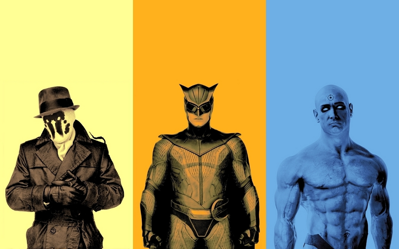 Watchmen Rorschach Nite Owl HD Wallpaper