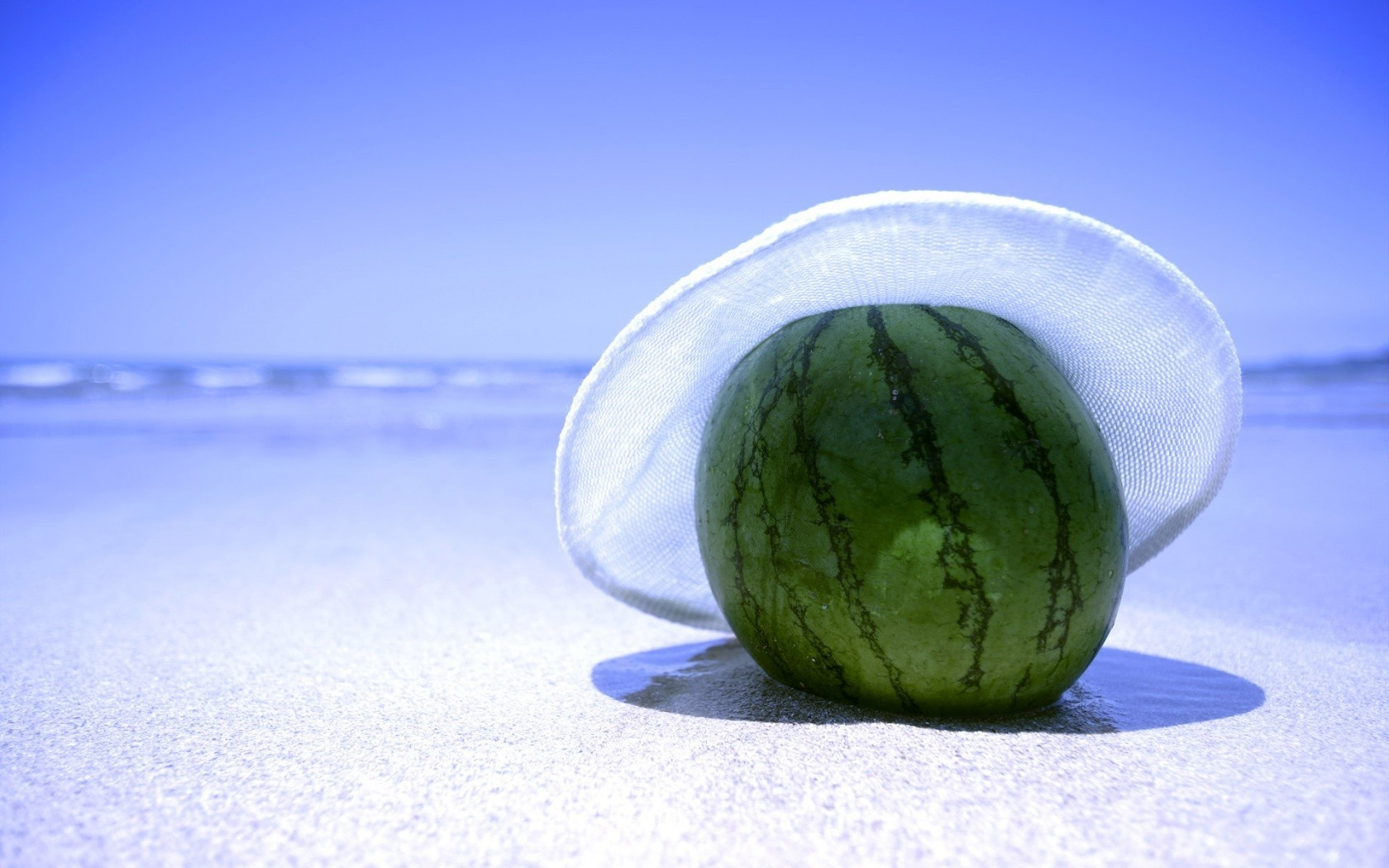 water hats watermelons HD Wallpaper