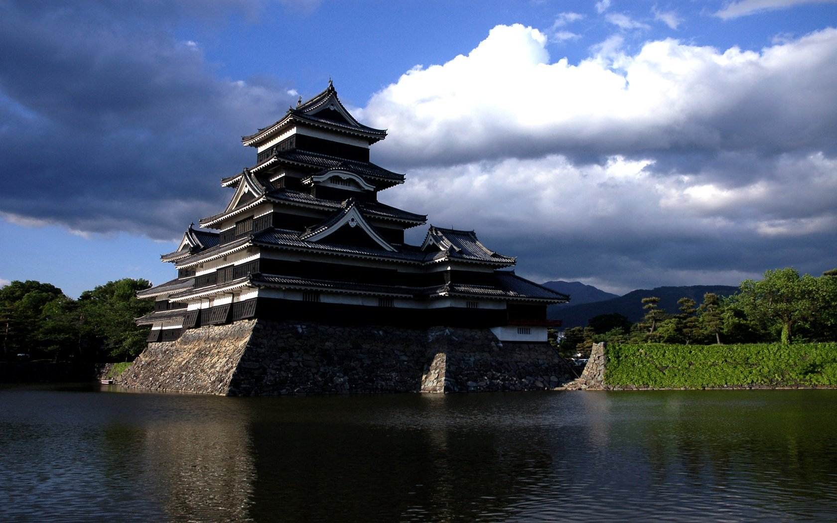 water Japan Castles Matsumoto