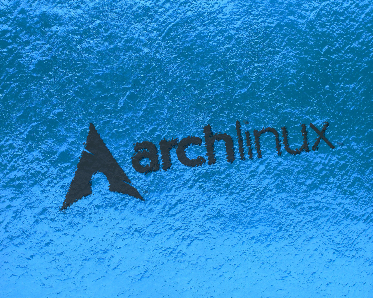 water Linux arch linux HD Wallpaper