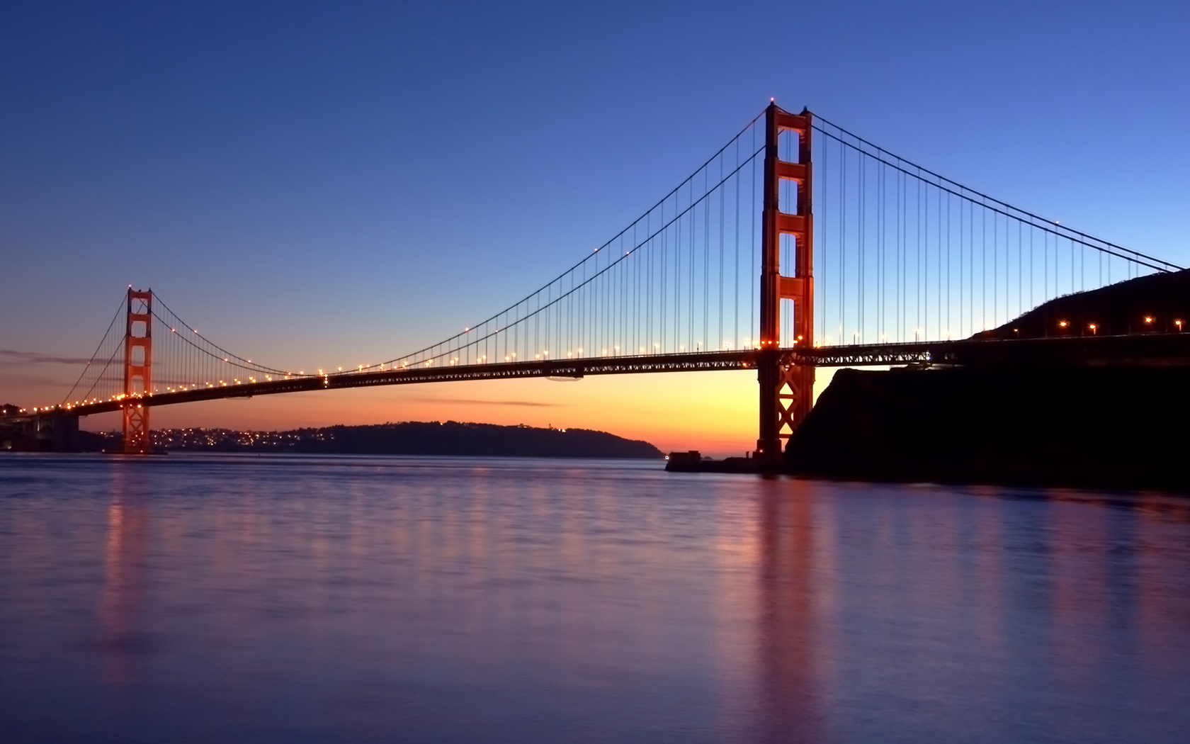 water sunset sunrise Bridges HD Wallpaper