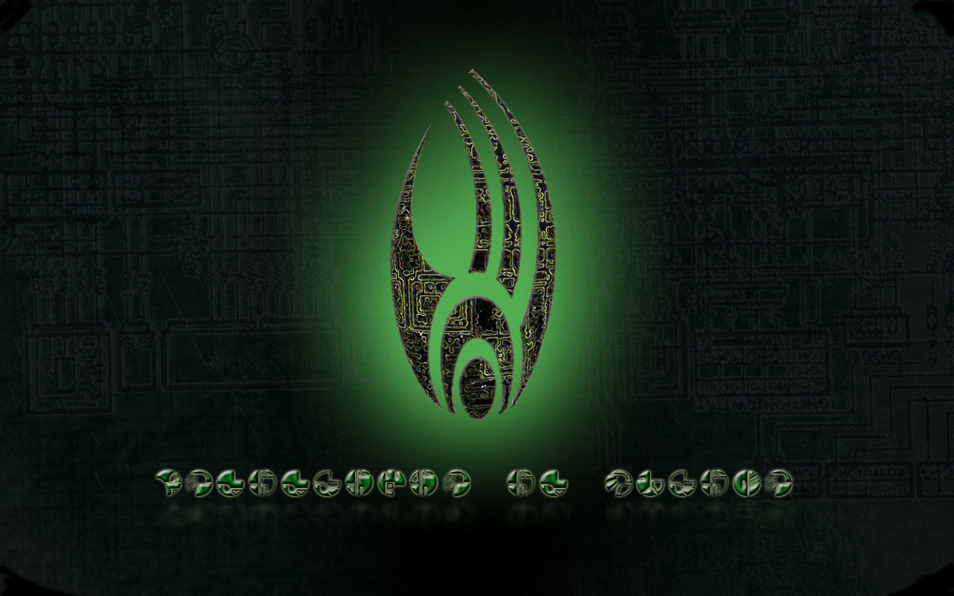 we are The Borg HD Wallpaper