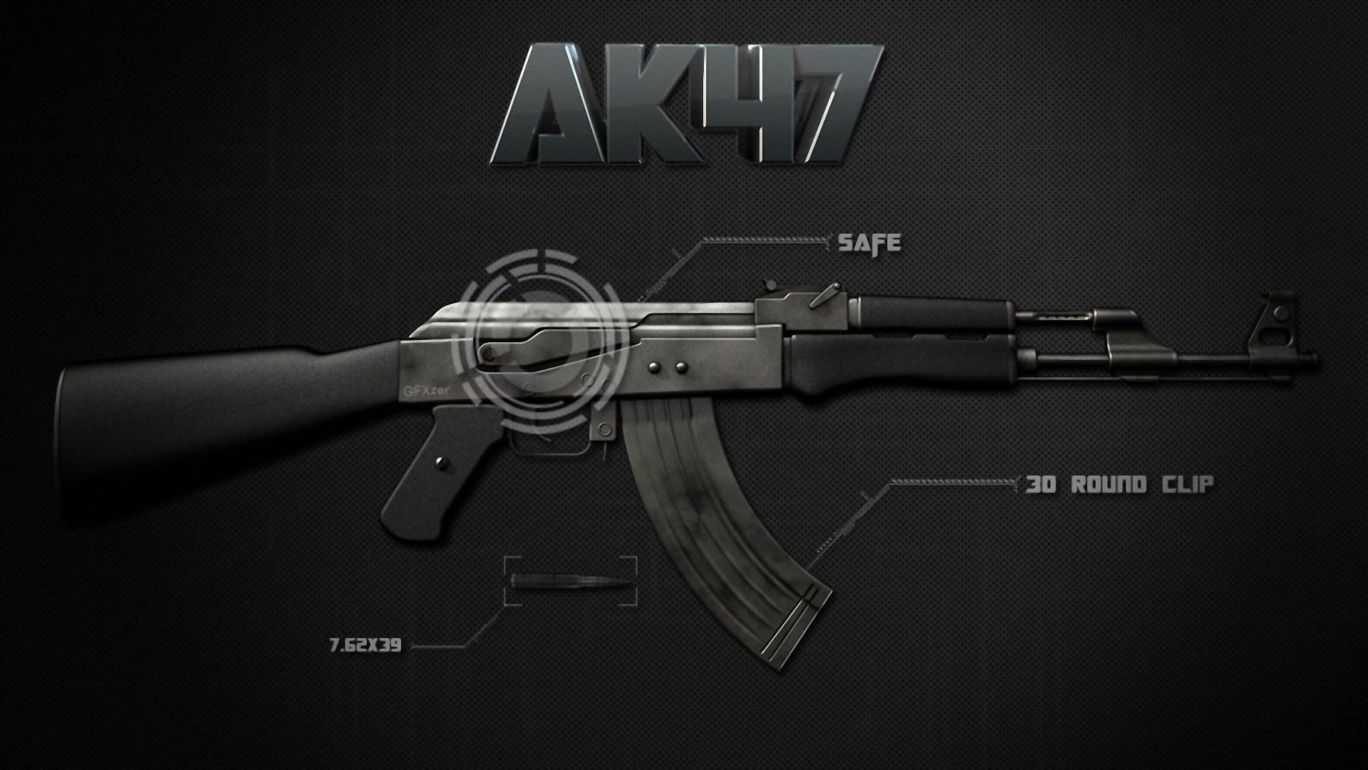 weapons Guns ak-47 Rifles ak 47 HD Wallpaper