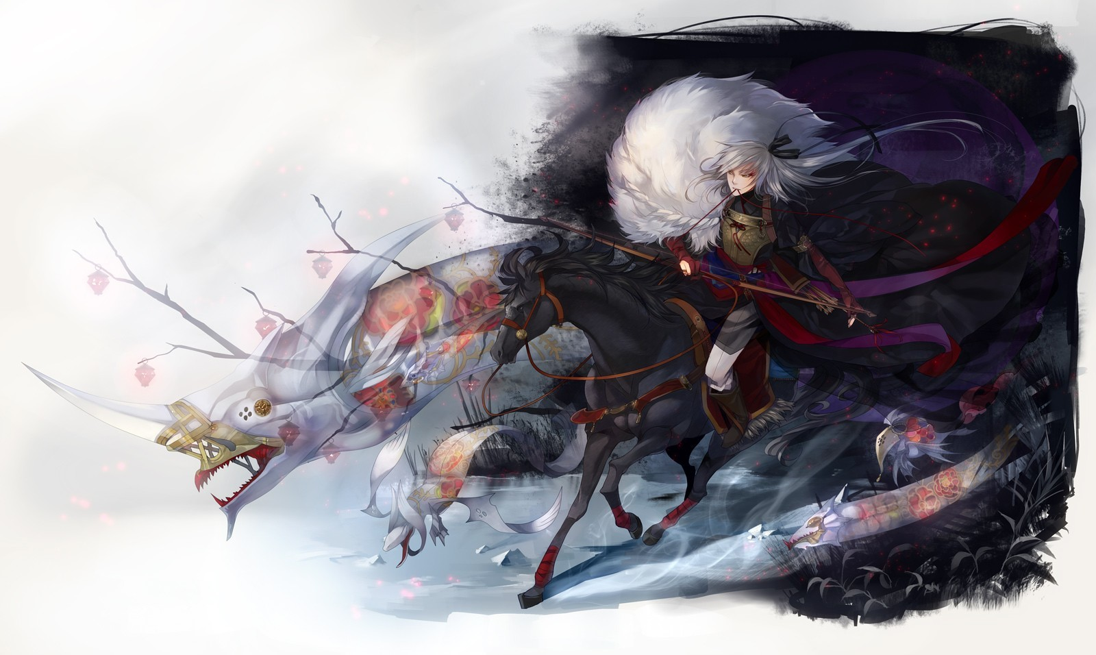 weapons Horses bows arrows HD Wallpaper