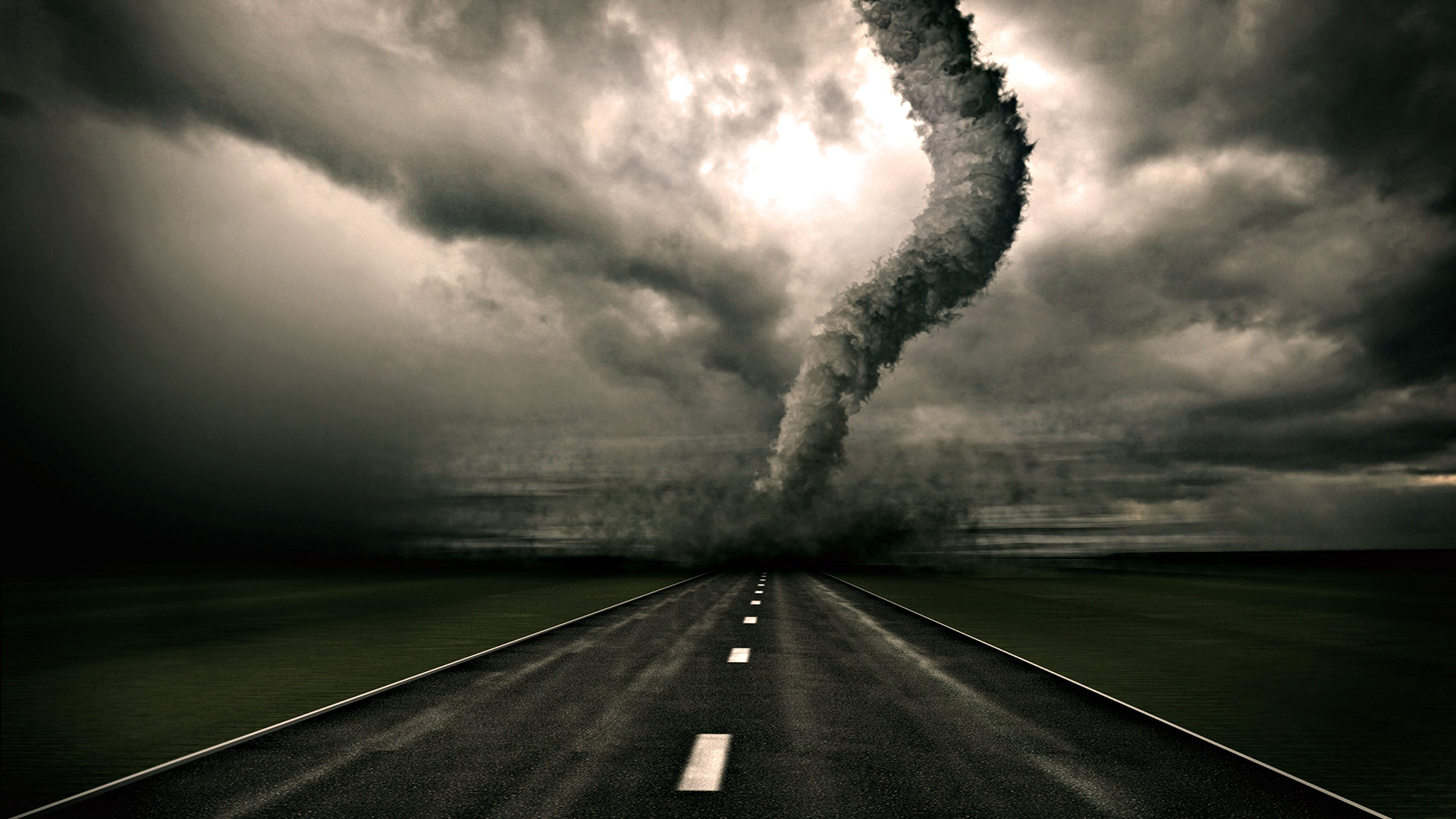 weather tornadoes roads
