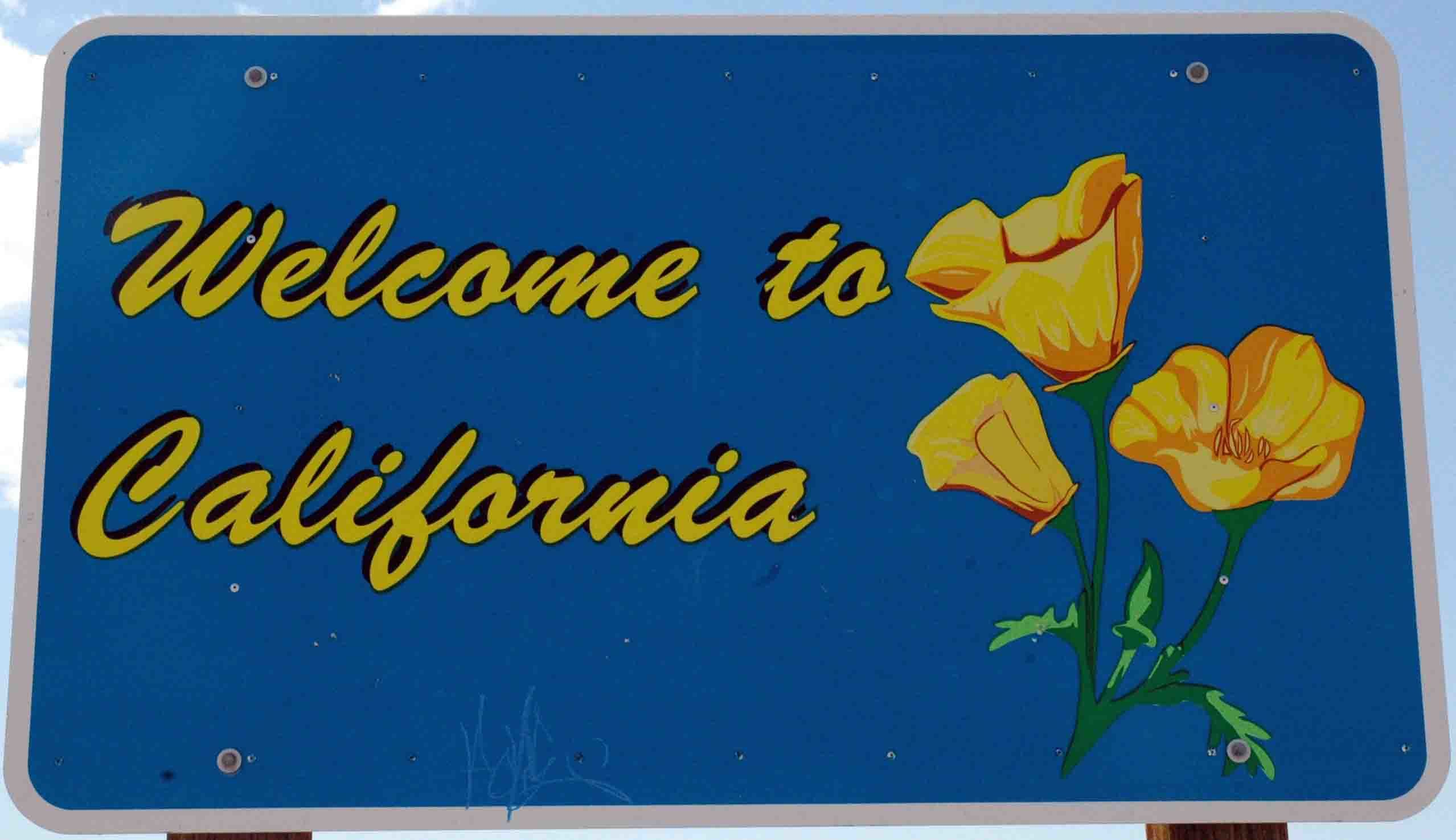 Welcome to California high HD Wallpaper