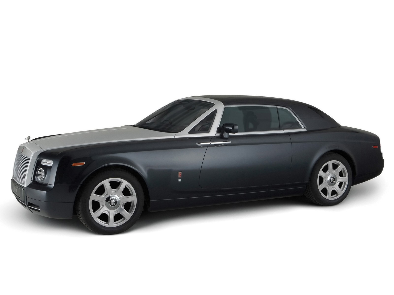 white 2006 Rolls Royce HD Wallpaper
