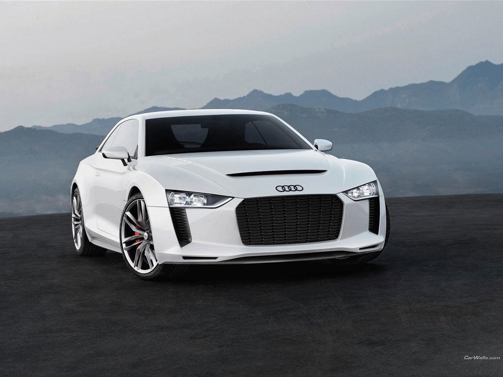 white cars cars Audi HD Wallpaper