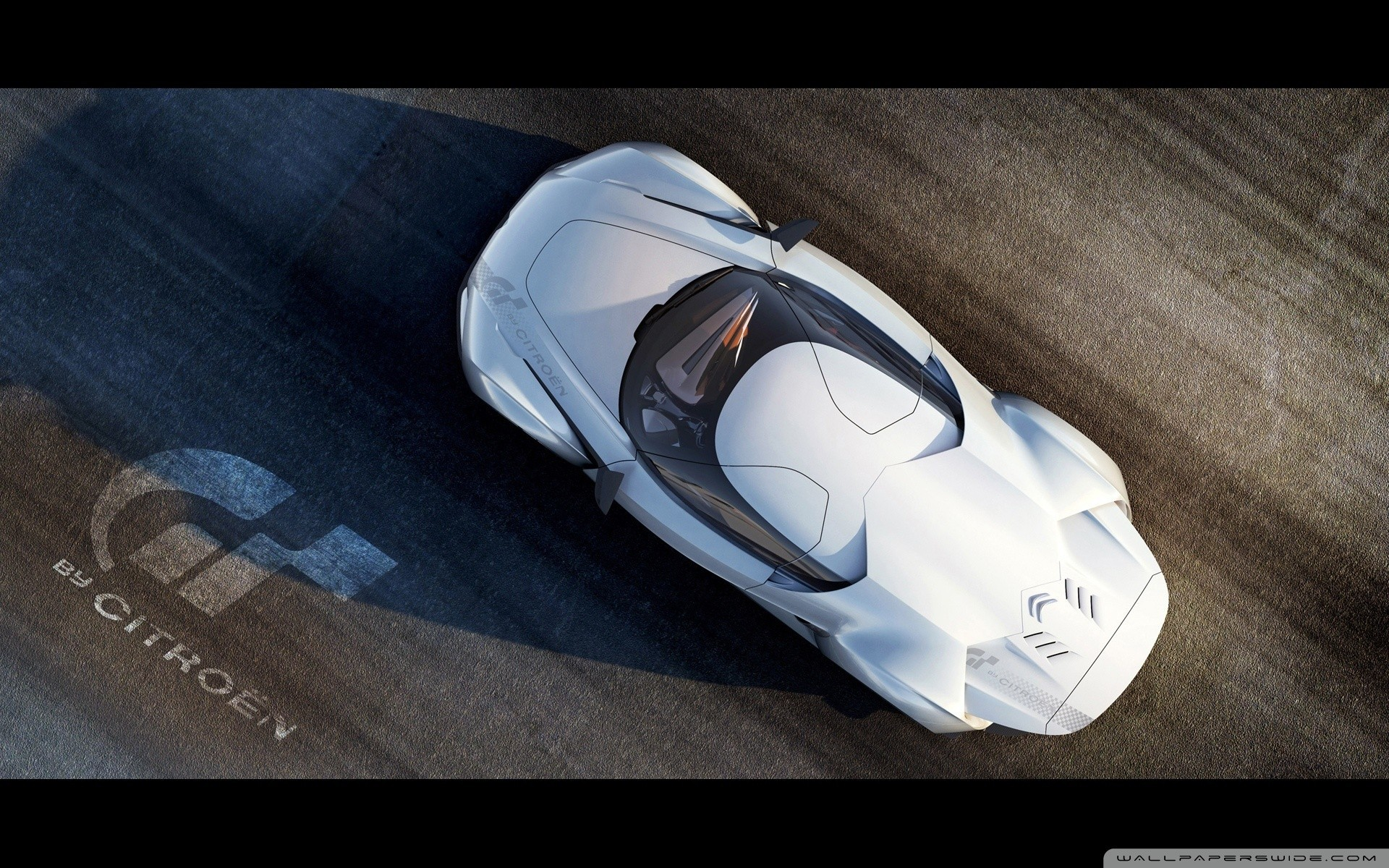 white cars roads concept HD Wallpaper