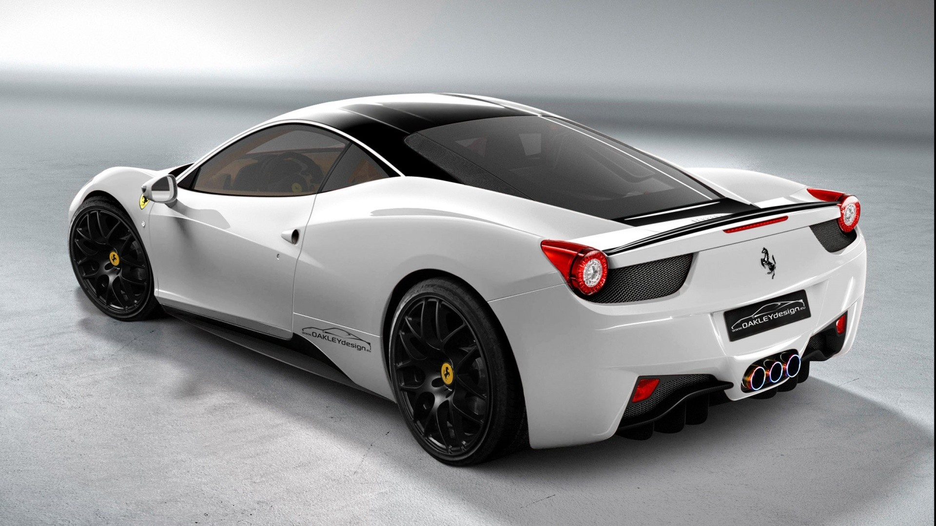 white cars vehicles ferrari HD Wallpaper
