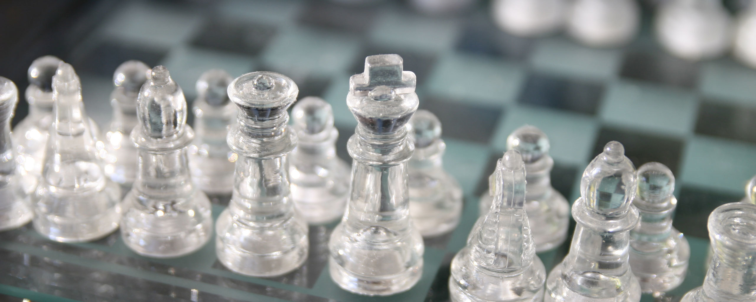 white chess silver clear HD Wallpaper