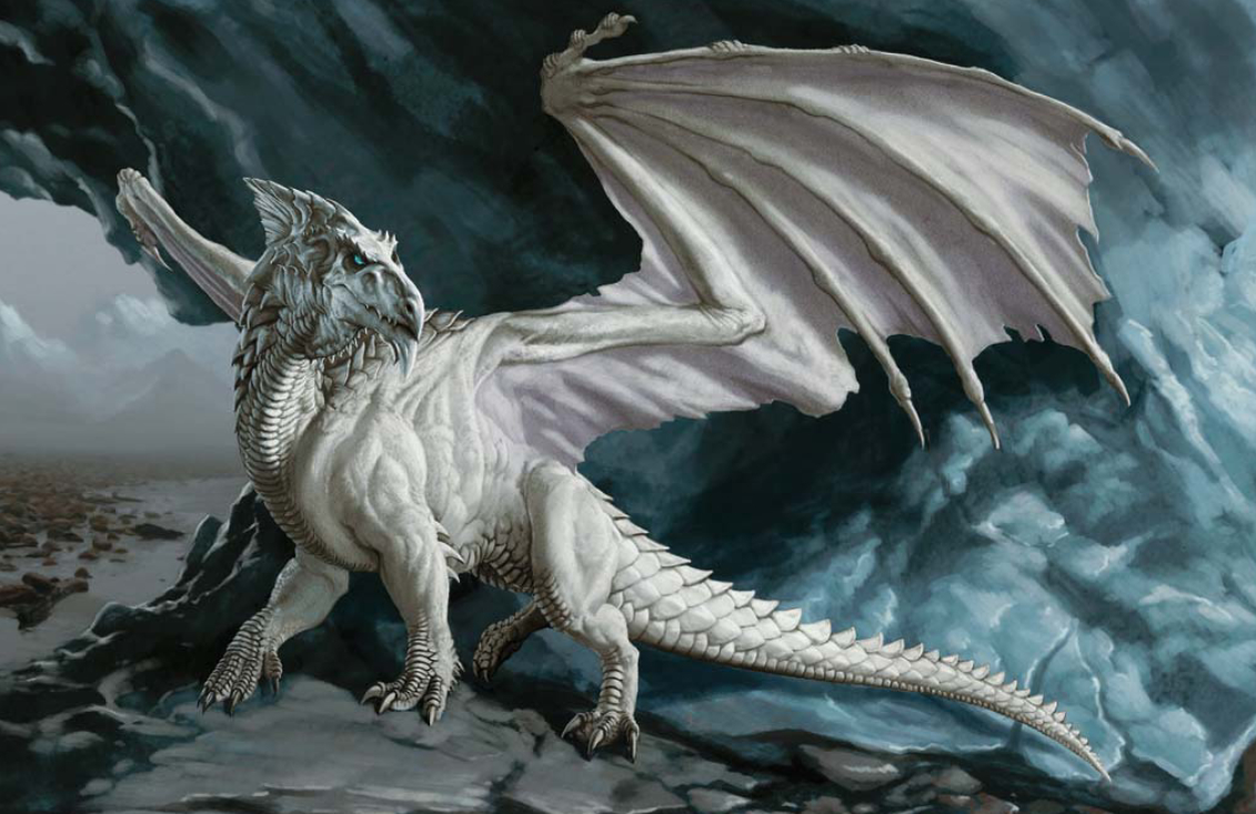 white dragon high Animals