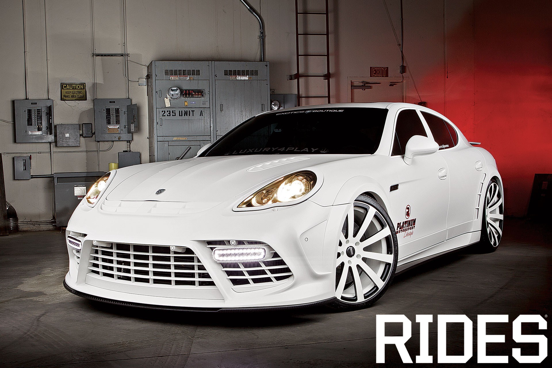 white turbo tuning wheels HD Wallpaper