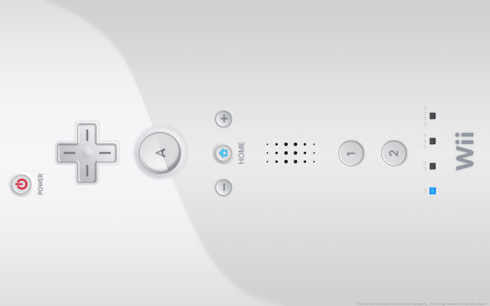 Wiimote HD Wallpaper