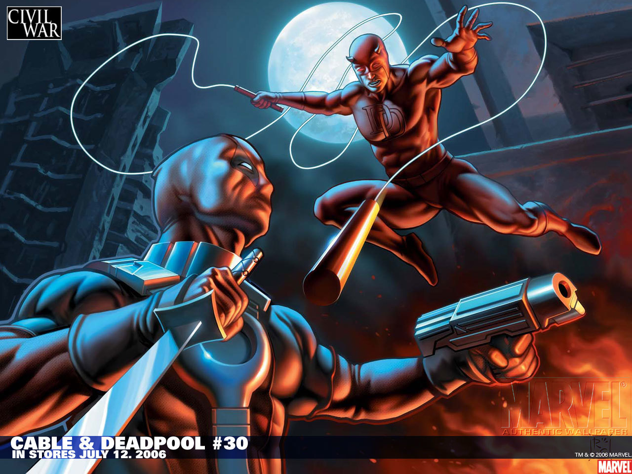 Wilson daredevil marvel comics HD Wallpaper
