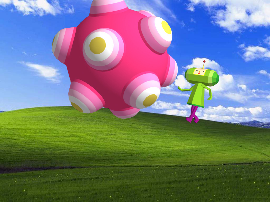 windows Katamari computer HD Wallpaper
