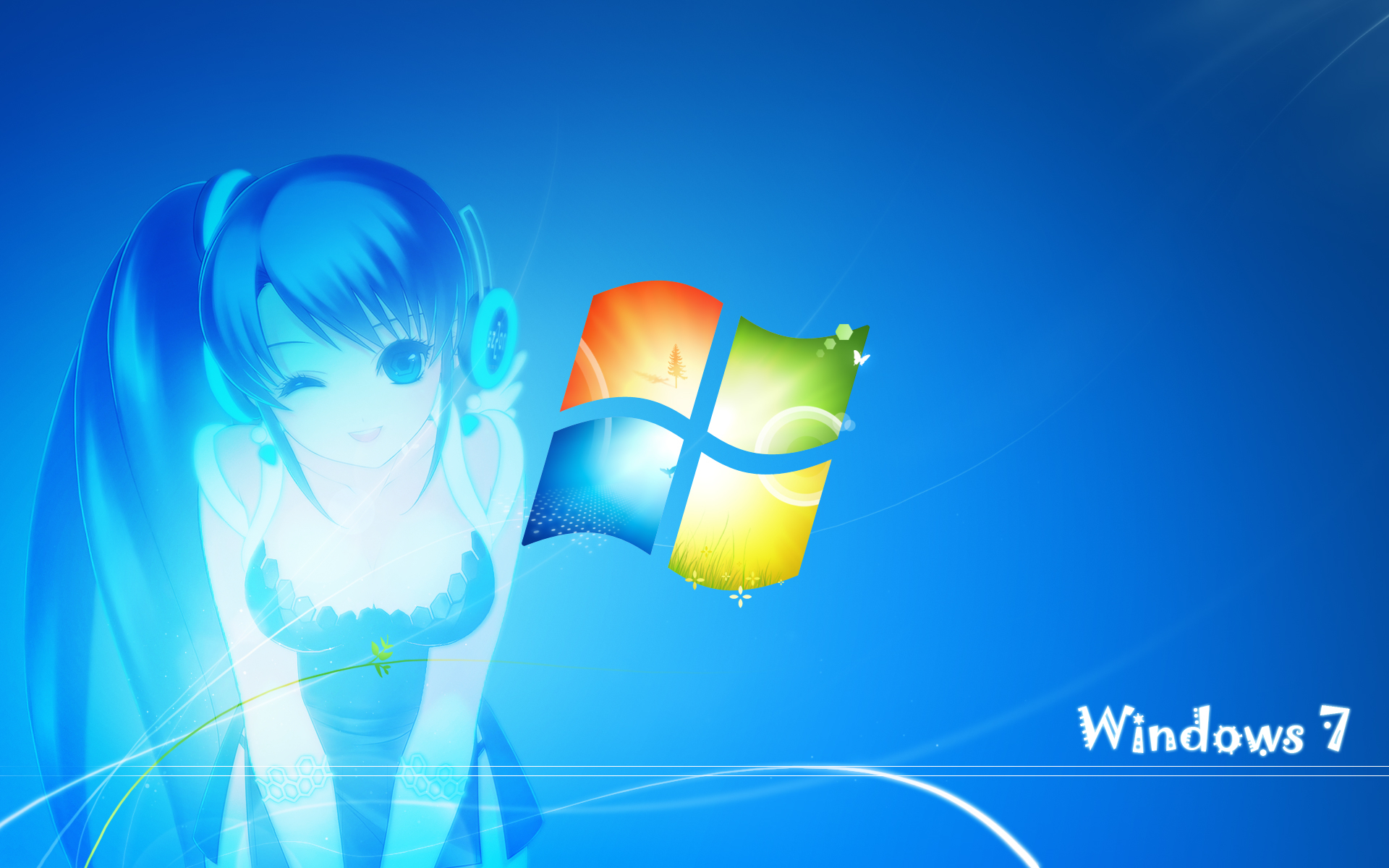 windows os-tan Anime HD Wallpaper