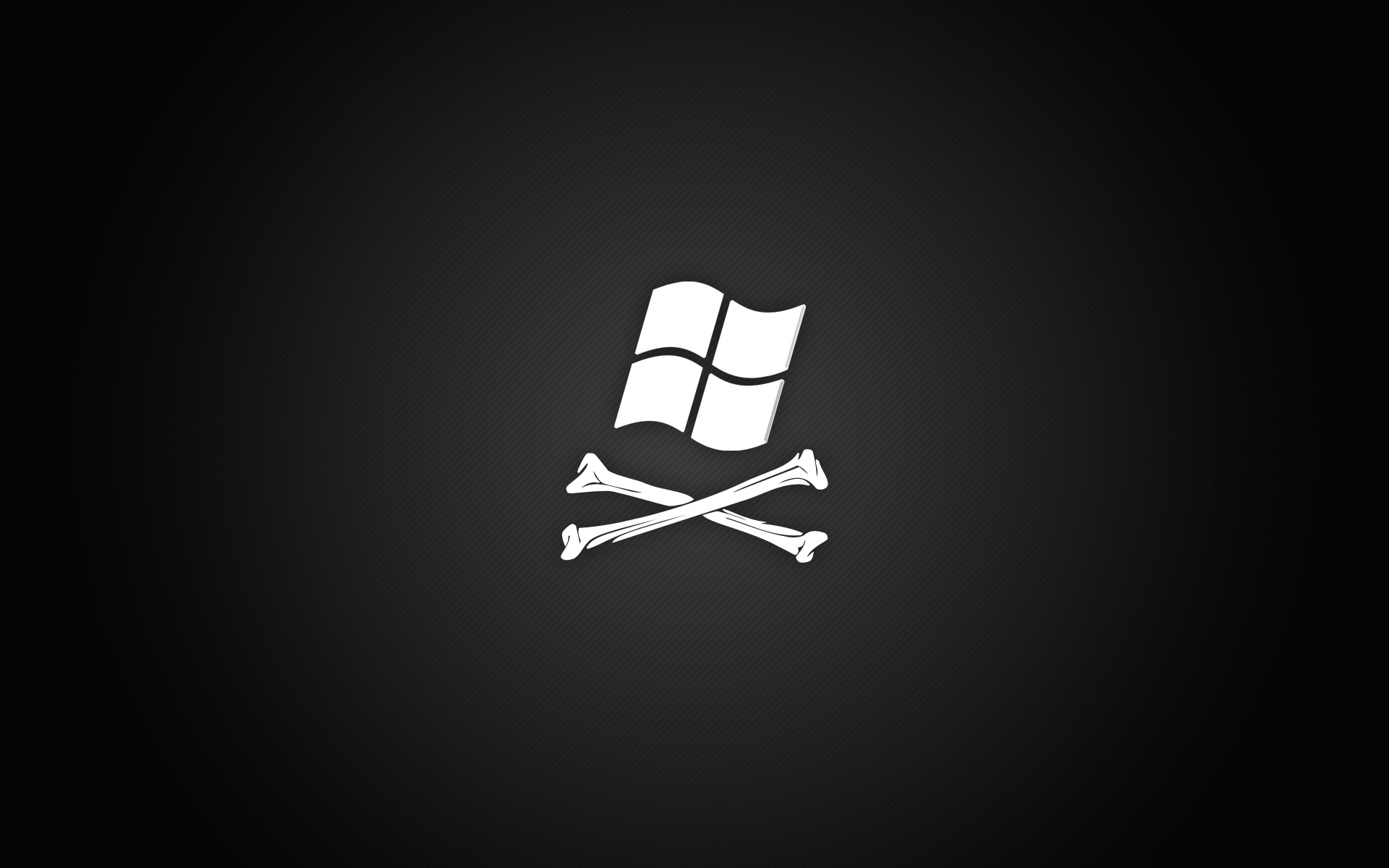 windows pirate black looks HD Wallpaper