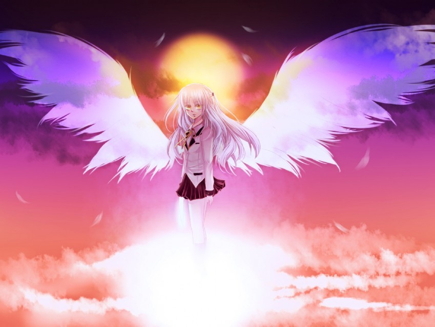 wings angel beats tachibana HD Wallpaper