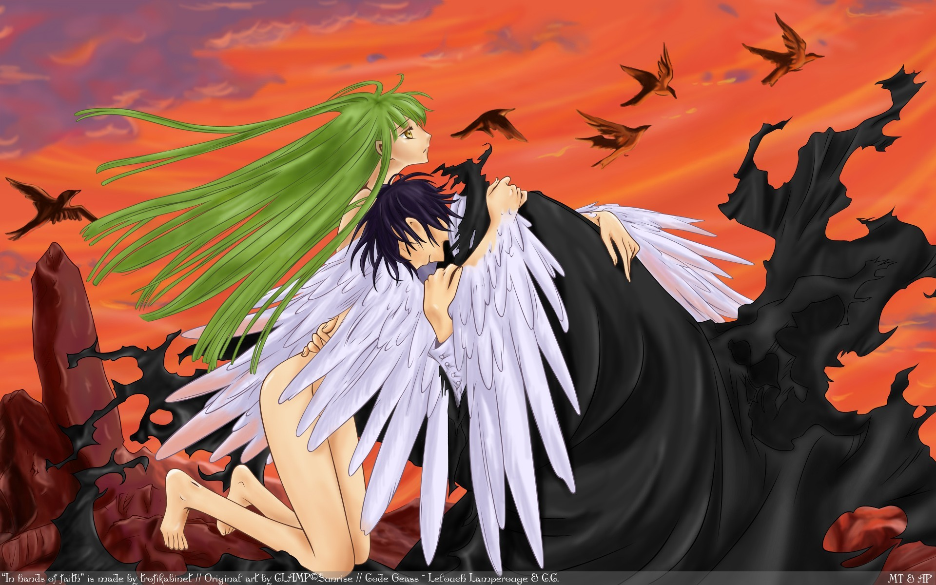 wings code geass vectors HD Wallpaper
