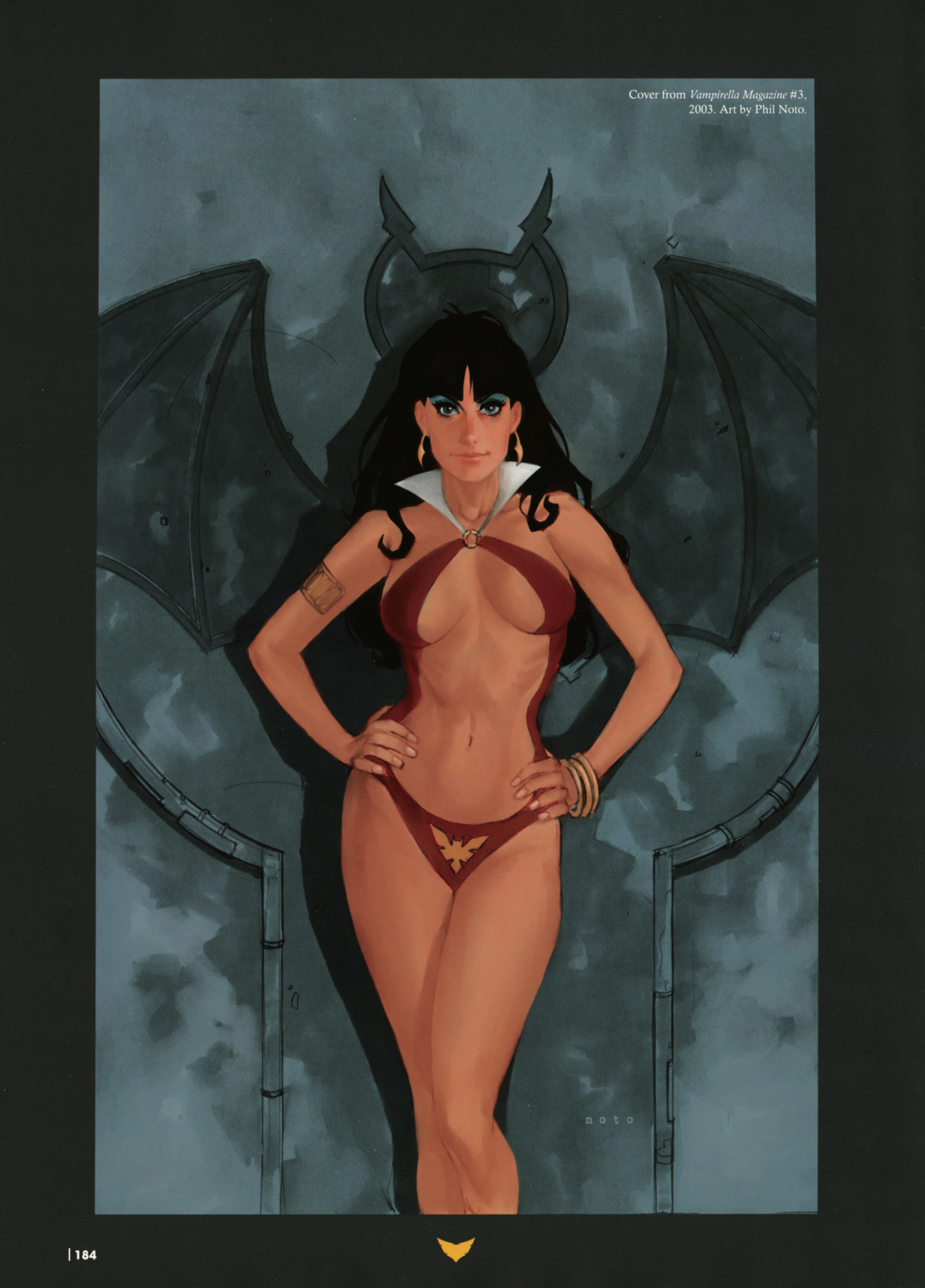 wings Vampirella bats