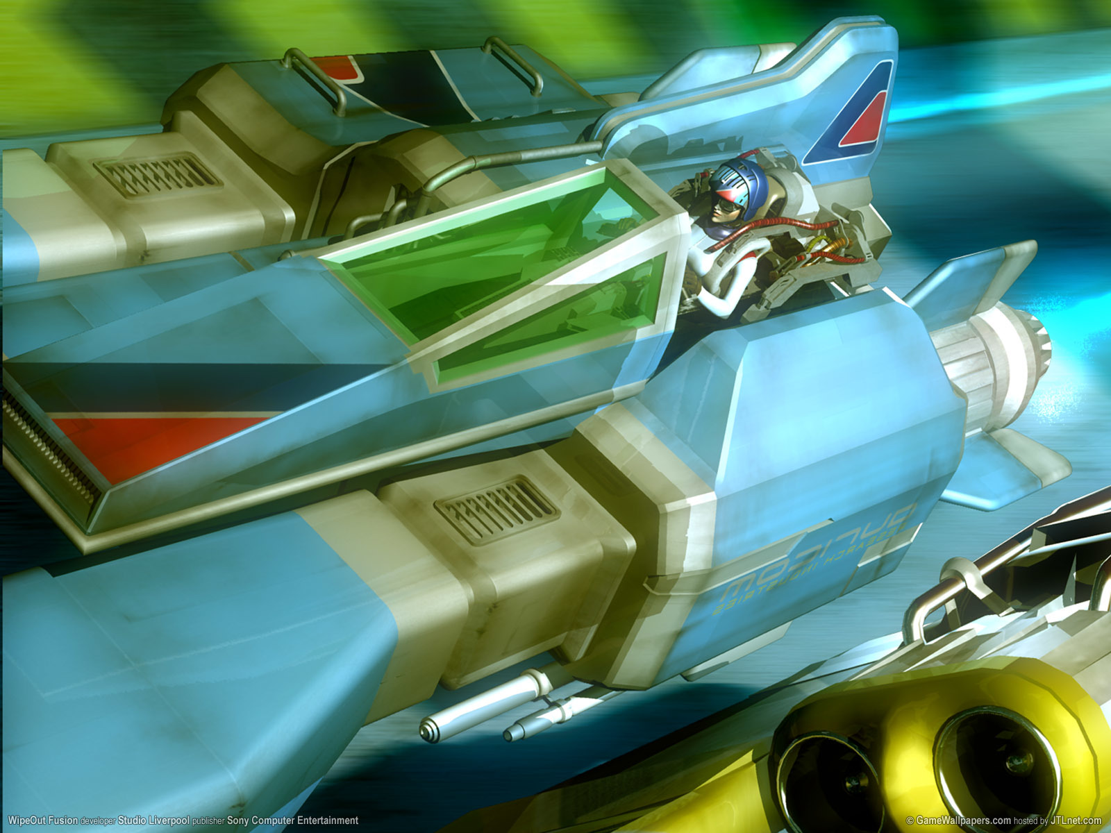 Wipeout Fusion video Games HD Wallpaper