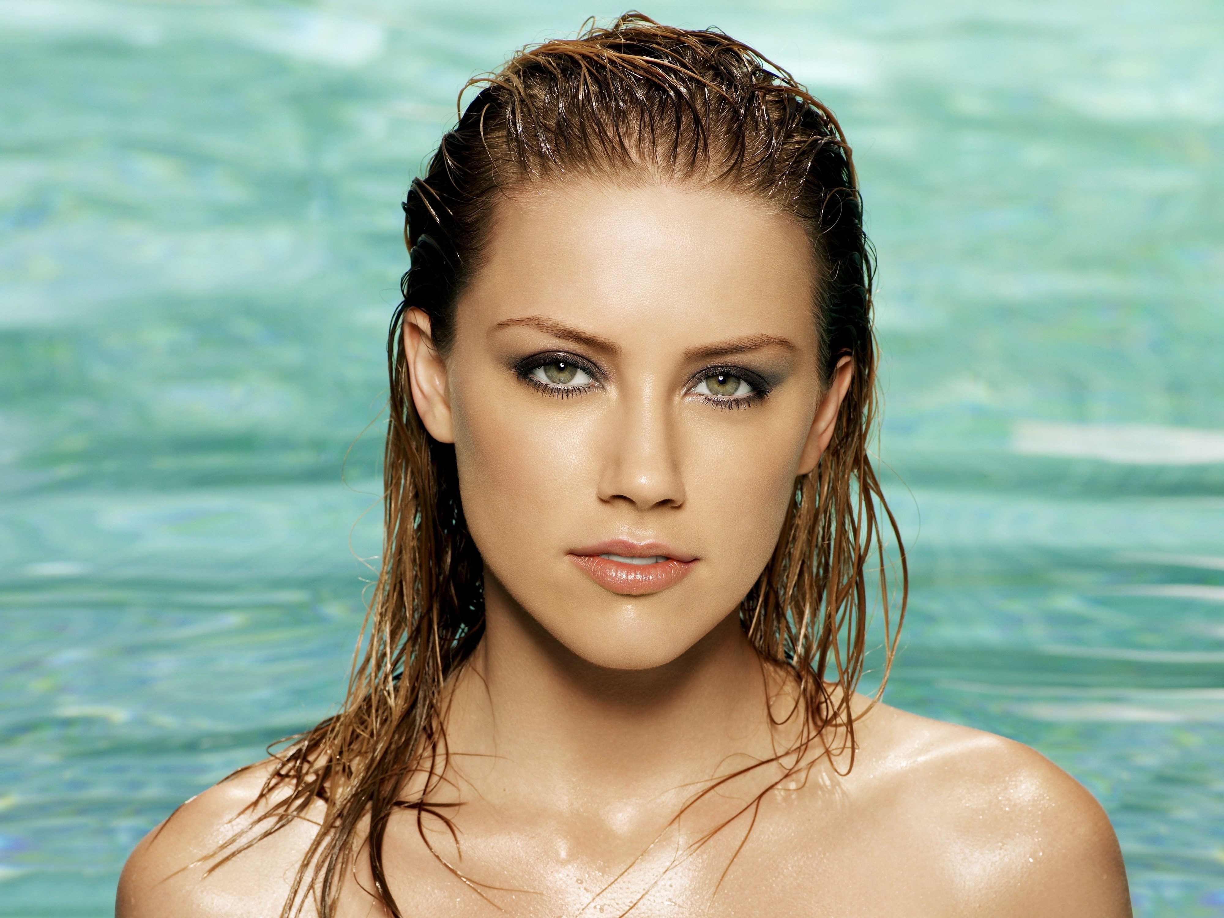 woman Actress models wet HD Wallpaper